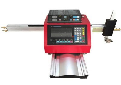 Portable cnc flame / plasma cutting machine; bi 40A heta 400A çavkaniya plasma